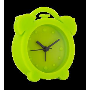 Jumbo Twin Bell - Alarm clock Green