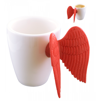Angel Express - Espresso cup Red
