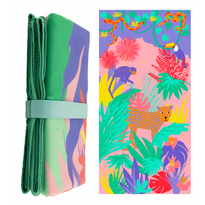 Microfibre towel - Body DS Jungle