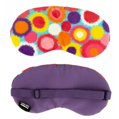 Eye mask - Velvet eyes Pompon