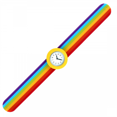 Slap watch - Sunny Time Yellow