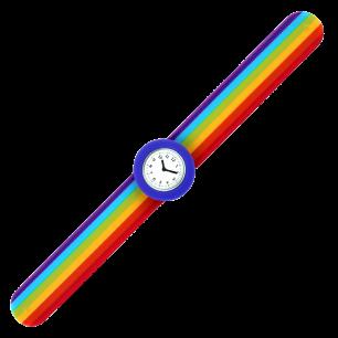 Montre slap - Sunny Time Bleu