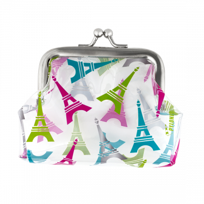 Purse with clasp close - Clipurse Eiffel Tower