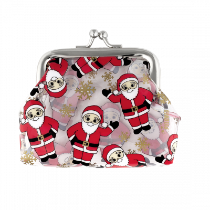 Geldbörse mit Clipverschluss - Clipurse Santa