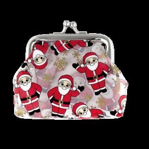 Porte-monnaie avec fermoir à clip - Clipurse Santa