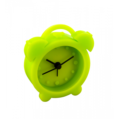 Mini alarm clock - Mini Twin Bell Green