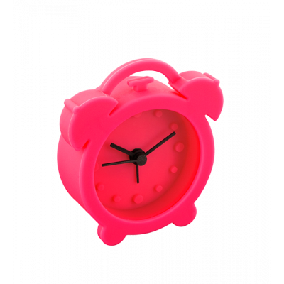 Mini alarm clock - Mini Twin Bell Pink