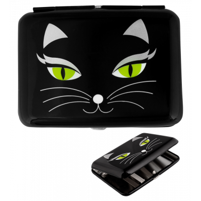 Zigarettenetui - Cigarette case Black Cat