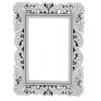 Magnetic photo frame - Magnetic Frame Silver