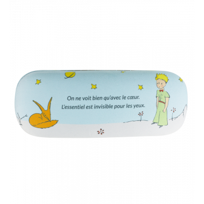 Hard glasses case - Beau Regard Le Petit Prince Blue