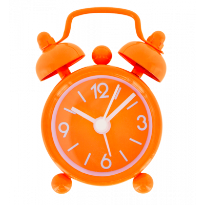 Mini Tiandi - Mini alarm clock Orange