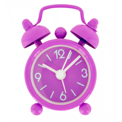 Mini alarm clock - Mini Tiandi Purple