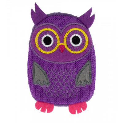 Hand warmer - Warmly Purple Owl