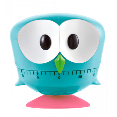 Minut'hibou - Kitchen timer Blue