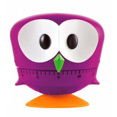 Minut'hibou - Kitchen timer Purple