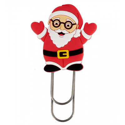 Small bookmark - Ani-smallmark Santa