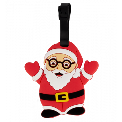 Luggage label - Ani-luggage Santa