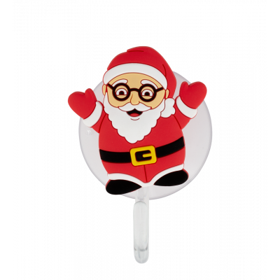 Crochet ventouse - Ani-holder Santa