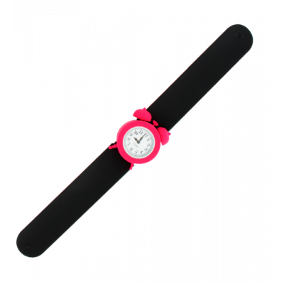 Slap alarm clock watch - My Time Black