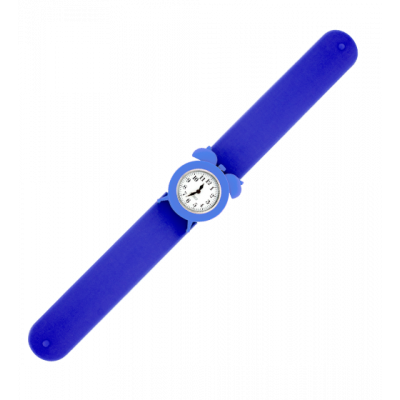 Slap alarm clock watch - My Time 2 Blue