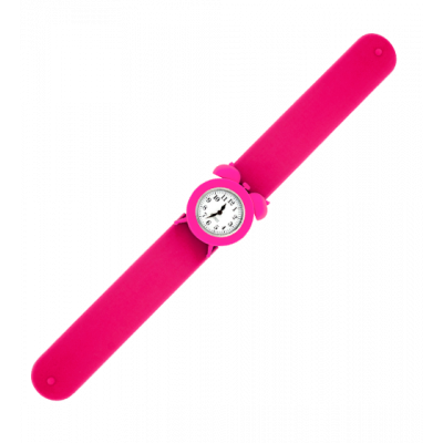 My Time 2 - Montre slap réveil Rose