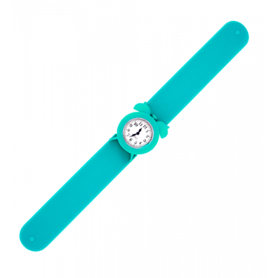 My Time 2 - Slap alarm clock watch Turquoise