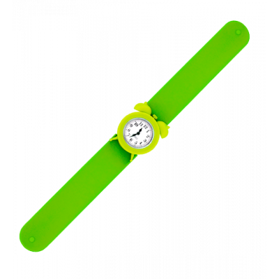 Slap alarm clock watch - My Time 2 Green