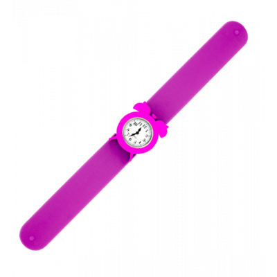 My Time 2 - Slap alarm clock watch Purple