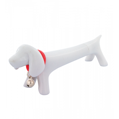 Basset - Pen White
