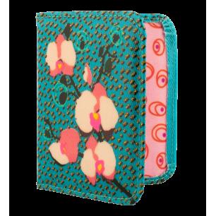 Porte cartes de fidélité - Voyage Orchid Blue