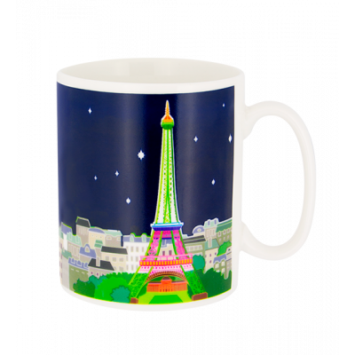 Paris s'éveille - Heat change mug Paris Bleu
