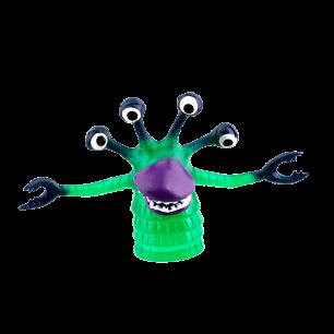 Marionettes pour doigts - Finger puppets Vert