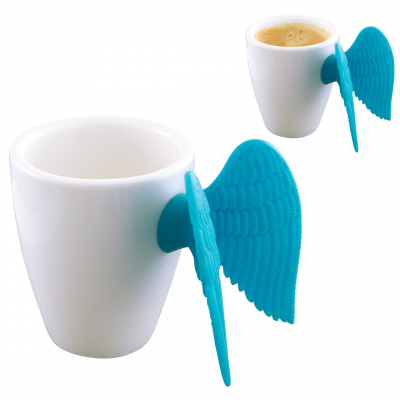 Espresso cup - Angel Express Light Blue