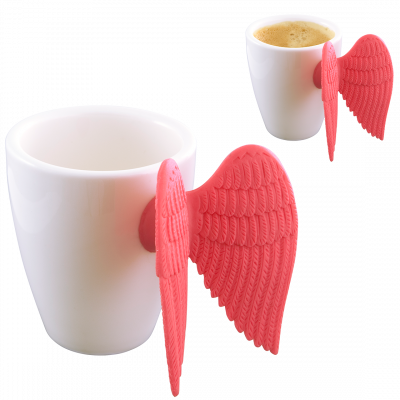 Espresso cup - Angel Express Pink