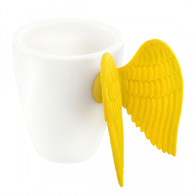Espresso cup - Angel Express Yellow