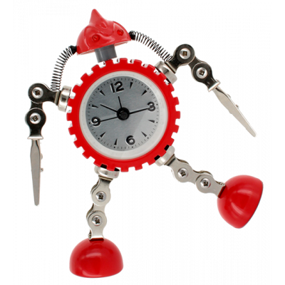 Alarm clock - Robot Timer Red
