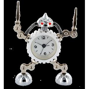 Réveil - Robot Timer Argent
