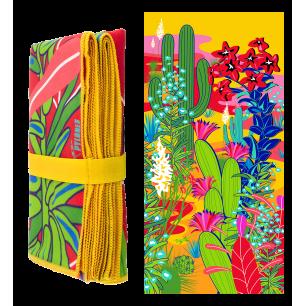 Mikrofaser-Badetuch - Body DS Cactus