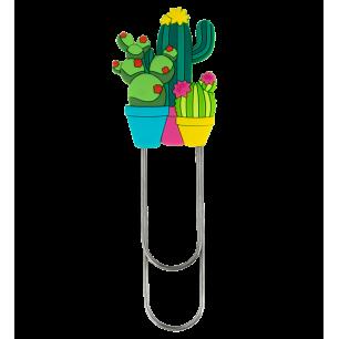 Großes Lesezeichen - Ani-bigmark Cactus