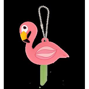Protège clés - Ani-cover Flamingo