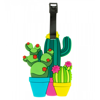 Luggage label - Ani-luggage Cactus