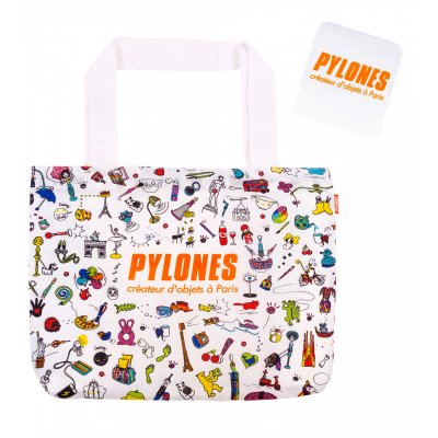 Shopping bag - Pylones Shopping White