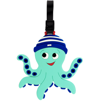 Luggage label - Ani-luggage Octopus