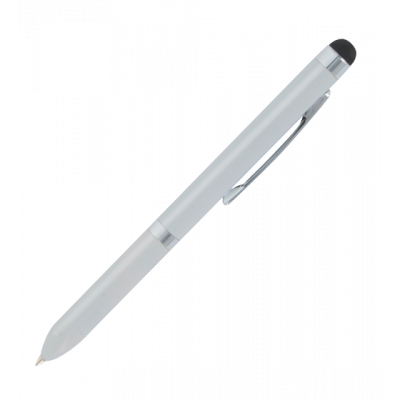 Touch Ball - Pen with stylus Silver