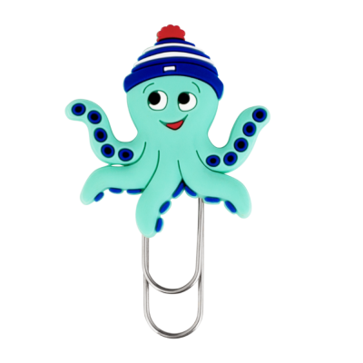 Small bookmark - Ani-smallmark Octopus