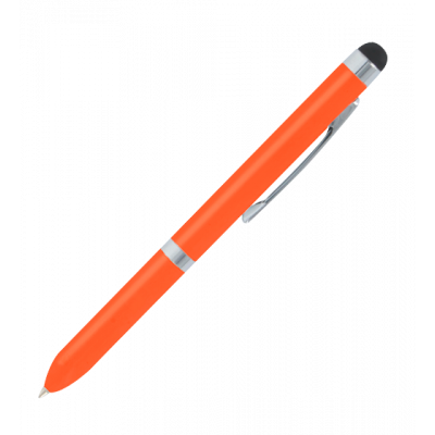 Stylo avec stylet tactile - Touch Ball Orange