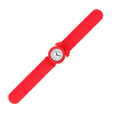 Slap alarm clock watch - My Time 2 Red
