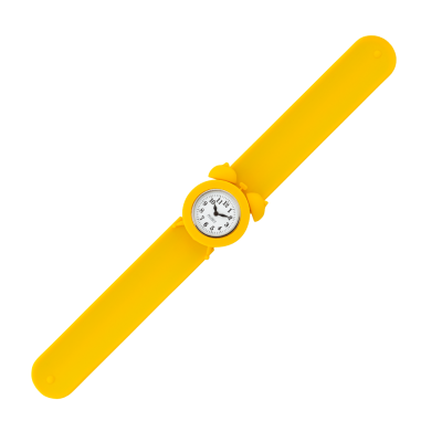Slap alarm clock watch - My Time 2 Yellow