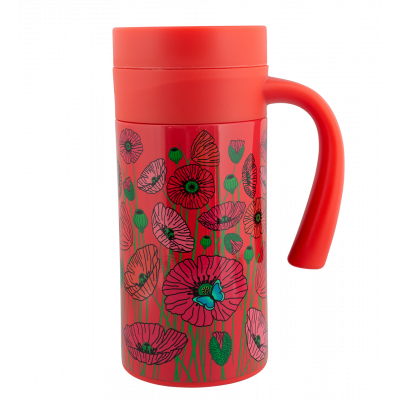 Thermobecher - Keep Cool Mug Coquelicots