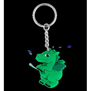Keyring - Ani-keyri Dragon Vert